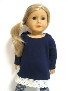 American Girl Doll Clothes  Comfy Casual by 123MULBERRYSTREET