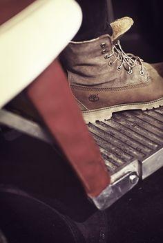 @Sharmadean Reid in #Timberland Authentics Teddy Fleece Fold-Down Boots boot