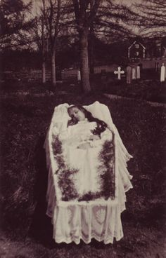 Victorian post mortem photo