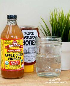 honey and vinegar for sore throat