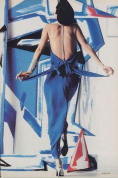 Vogue, January 1984.