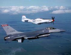 F-16 & P-51