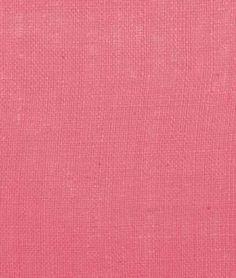 Snap Pink Burlap Fabric