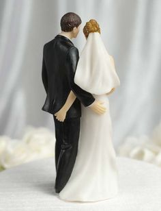 Wedding Cake Toppers | Unique Wedding Cake Toppers Design to Make Humorous Statement ...  @Rebekah Stout
