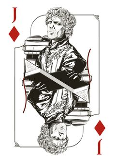 Game Of Thrones Playing Cards Project by Jim Tuckwell