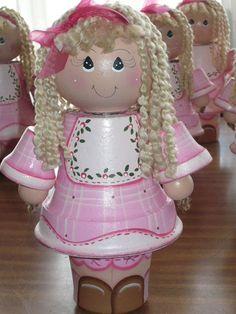 beatiful clay doll