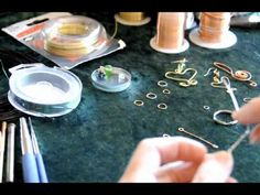 HOW TO BEGIN WIRE WRAPPING AND JEWELRY MAKING #2, JUST THE BASICS