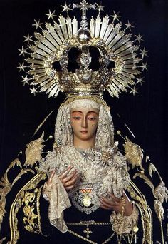 Virgen de la Soledad. Patrona de Cantillana:::