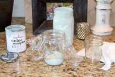 Crafty Southern Mama: Marvelous Mason Jar Make-Over