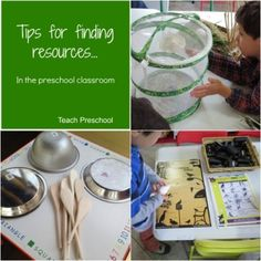 Tips for finding resources for your preschool classroom