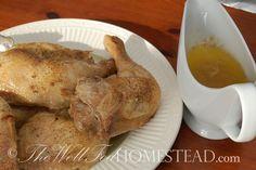 GAPS Recipe: Basic Baked Chicken
