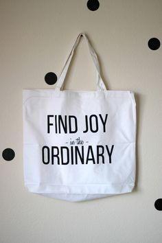 screen printed tote with printable