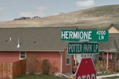 There's A City In Montana With A Neighborhood Full Of Harry Potter-Themed Street Names I gotta move to Montana. JF