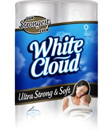 This all-new 2 Ply bath tissue combines strength and softness with cloud-like comfort to give your family the quality and value they deserve. - See more at: http://mywhitecloud.com/Tissue/Bath#sthash.eXHqLWGU.dpuf