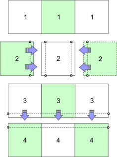 t-shirt quilt assembly diagram -- Diagram