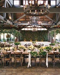 Get inspired by this refined and rustic North Caroline reception.