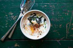 Sardou-Inspired Egg en Cocotte recipe on Food52.com