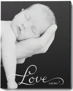 Know anyone who welcomed a bundle of joy into their family? Gift them a beautiful canvas print to cherish this holiday season.