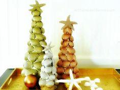 Seashells #christmasdiy #holidaycrafts