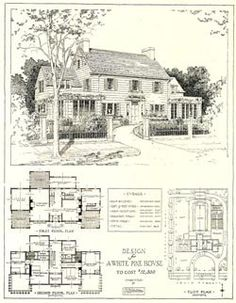 Mr. Blandings house. Loved this movie and would build this house if ever able to.  :-)