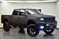 Lifted Chevy truck wish this was mine!!