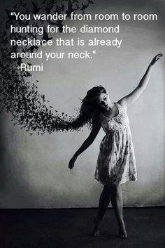 rumi quot, inspirational quotes