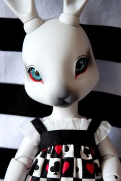 Pipos Dali BJD by Emily Bee ♥ Follow The White Rabbit on Flickr.