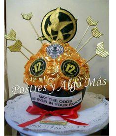 Ponquesito Gigante de los Juegos de Hambre - Hunger Games Giant Cupcake