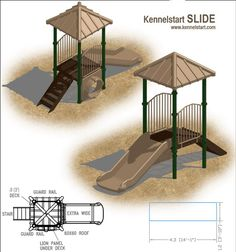 Plan for dog playground at home