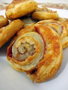 Serrano Ham & Manchego Cheese Pinwheels
