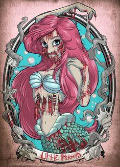 Disney Princesses are zombies