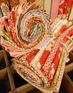 Fig Tree Quilts Butterscotch and Rose.  Fabric can be for grownups, too!