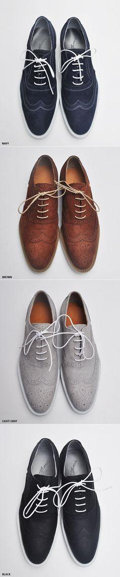 Casual-chic Nubuck Quantum Clipper Shoes