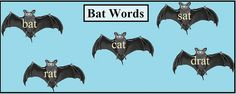 Bat Words by Evelyn Saenz, via Flickr