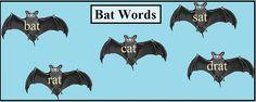 Bat Words by Evelyn Saenz, via Flickr