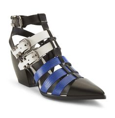 Queensdale Caged Pointy-Toe Heel  - Kenneth Cole