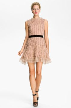 RED Valentino Lace Detail Dress | #Nordstrom #falltrends