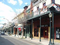 Dauphin Street & Wintzill's Seafood Restaurant ; Mobile, Alabama
