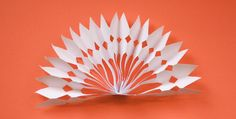 DIY paper snowflake decorations | How About Orange
