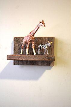 Wall Shelf: Barn Lumber