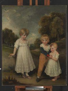 The Sackville Children, John Hoppner, 1796