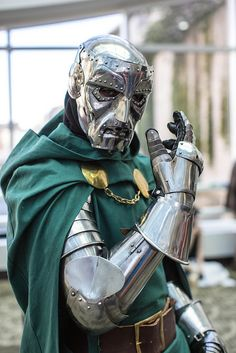Dr. Doom cosplay by RedRing