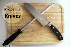 How to Take Care of Your Kitchen Knives