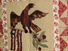 Eagle Quilt, owned by Karen Witt of Reproduction Quilts