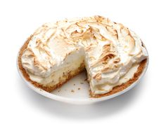 Banana-Coconut Marshmallow Meringue Pie Recipe : Food Network Kitchens : Food Network