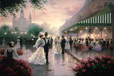 Historical Cafe du Monde ~ New Orleans, Louisiana (Art by Christa Kieffer Studios)