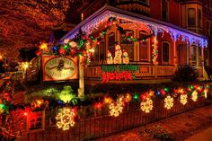 Cape May Christmas 2013 | Columbia House in Cape May decorated for Christmas (photo by Panoramio ...