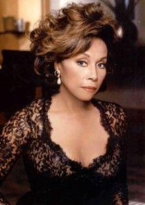 Mature beauty Diahann Carroll: Born 1935