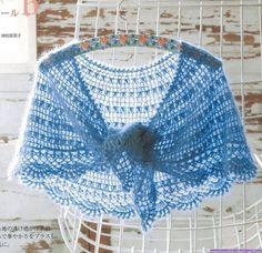 the famous crescent shawlette!  - free crochet diagrams (this site has the diagram of the whole shawlette! - much much easier to follow!)