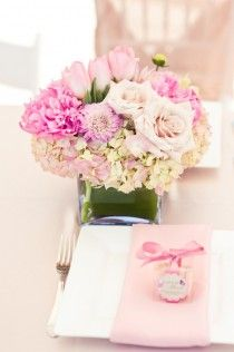 Pretty pops of pink (shower/luncheon for baby girl or bride)